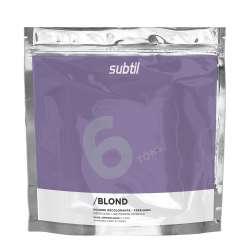 Subtil Poudre Décolorante 6 Tons Sans Ammoniaque 450G