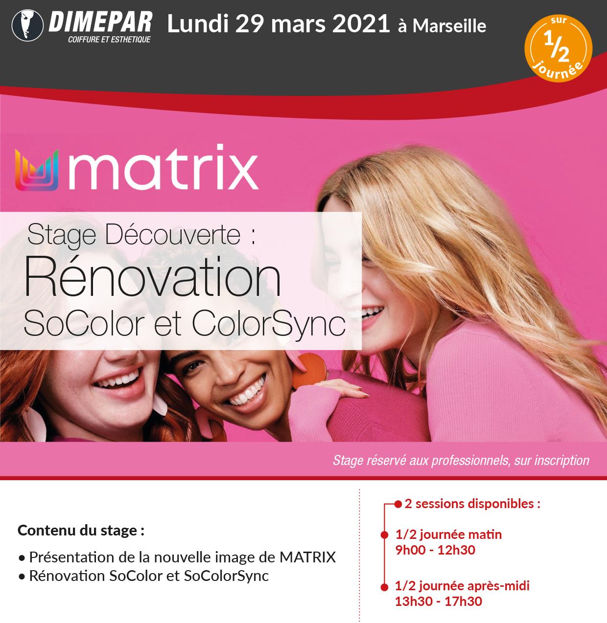 Stage Découverte Rénovation SoColor et ColorSync
