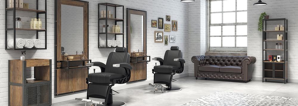 Collection Garage : Mobilier pour Barber Shop