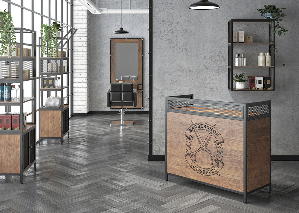 Mobilier Barbier – Garage Collection – Style Industriel.