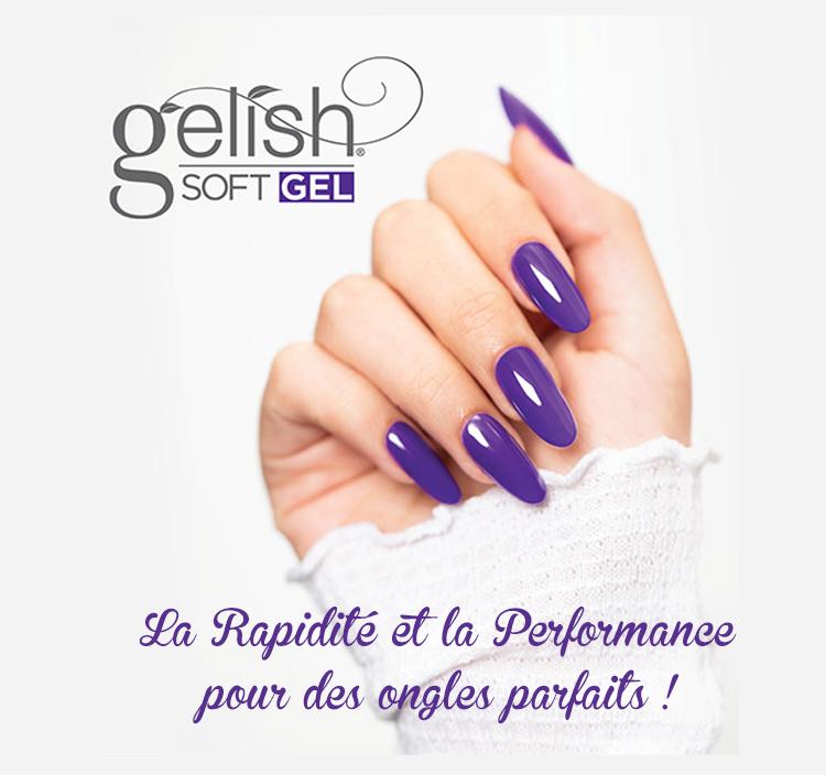 Gelish Soft Gel Tips est la méthode la plus simple du marché en terme d'extension.