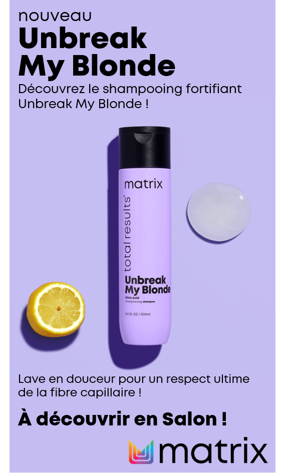 UNBREAK MY BLONDE Shampooing Fortifiant sans sulfate