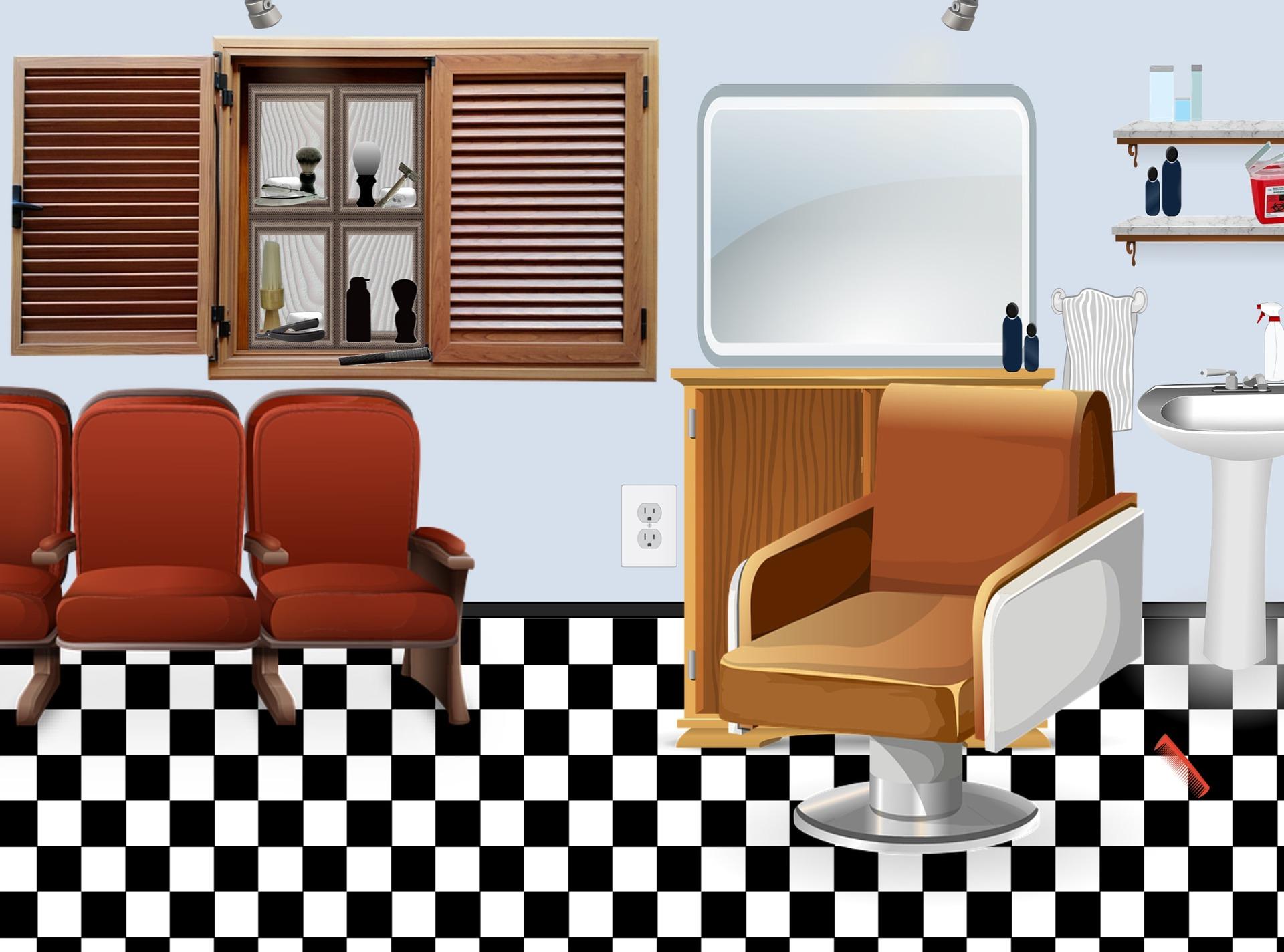 Mobilier Salon Coiffure