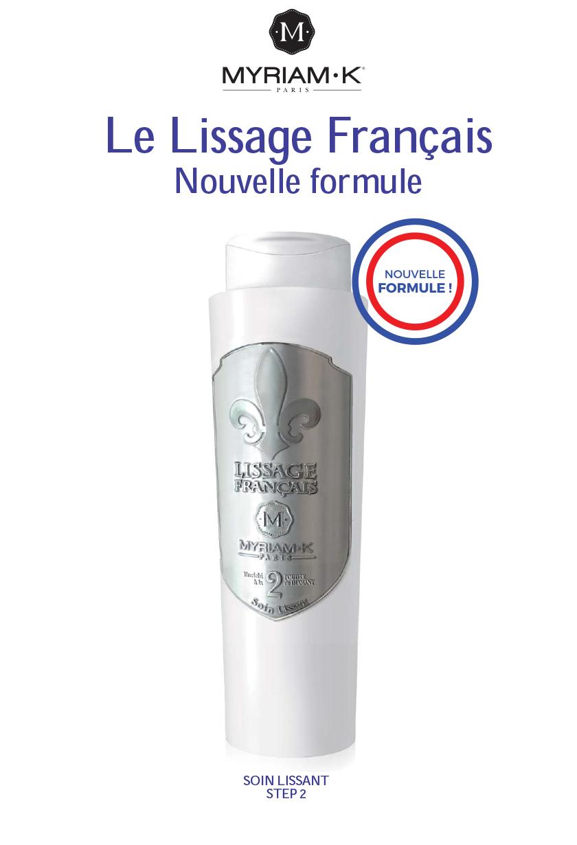 Le Lissage Français Nouvelle formule