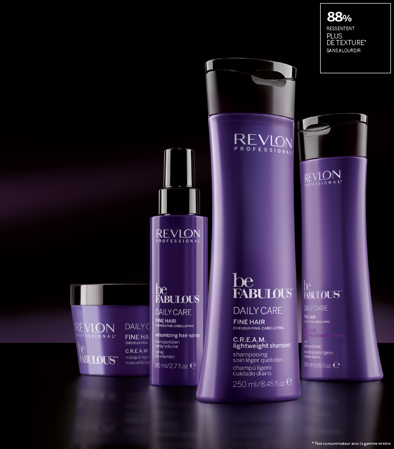BE Fabulous DAILY CARE Cheveux fins