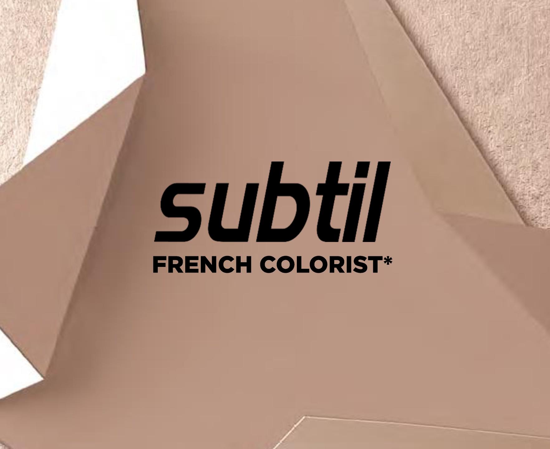 expert de la couleur SUBTIL