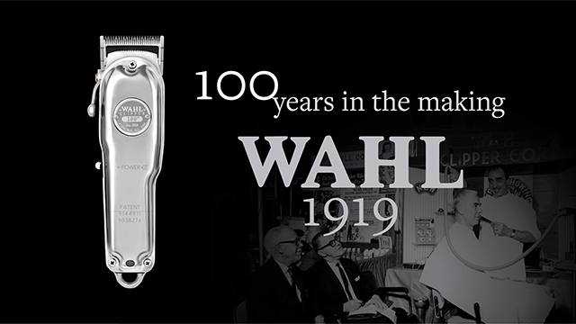 WAHL 100 YEARS