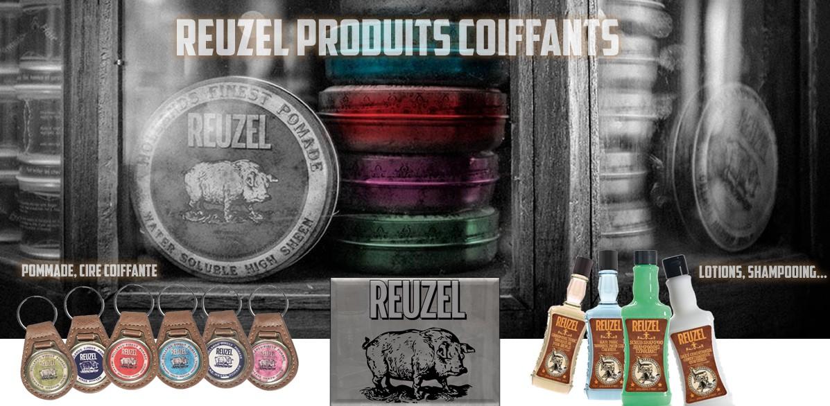 Reuzel Produits Coiffants Pommade Cire Coiffante Lotions