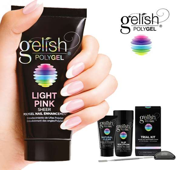 POLYGEL GELISH - Gel UV LED